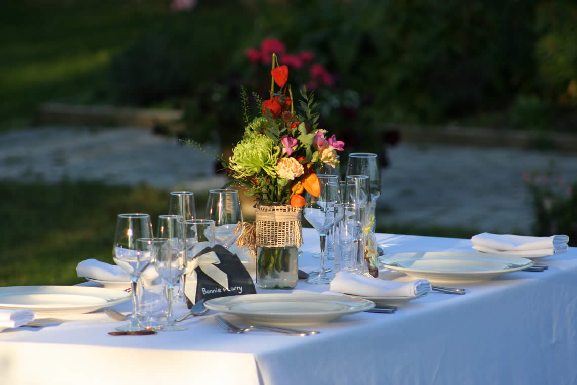 Wedding Catering By Our Partners At The Secret Garden